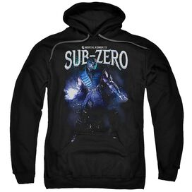 Mortal Kombat Sub Zero Adult Pull Over Hoodie