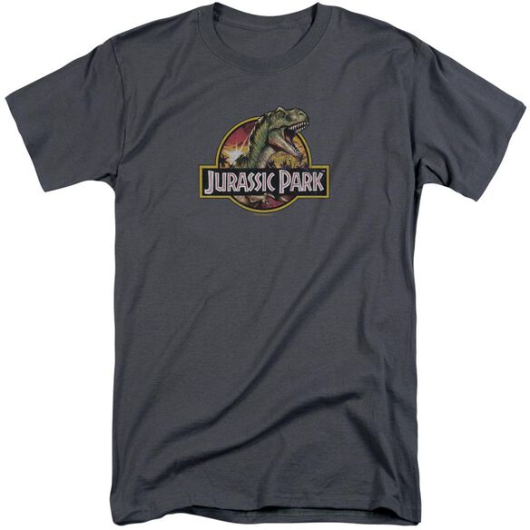 Jurassic Park Retro Rex Short Sleeve Adult Tall T-Shirt