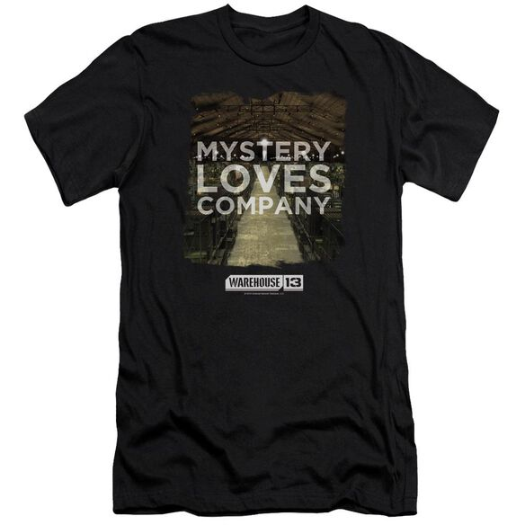 Warehouse 13 Mystery Loves Premuim Canvas Adult Slim Fit