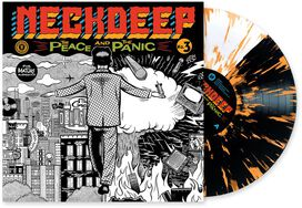 Neck Deep - The Peace & The Panic [Exclusive Black & White Half/Half with Orange Splatter Vinyl]