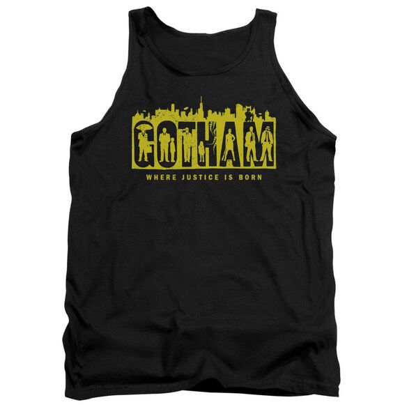 Gotham Silhouettes Adult Tank