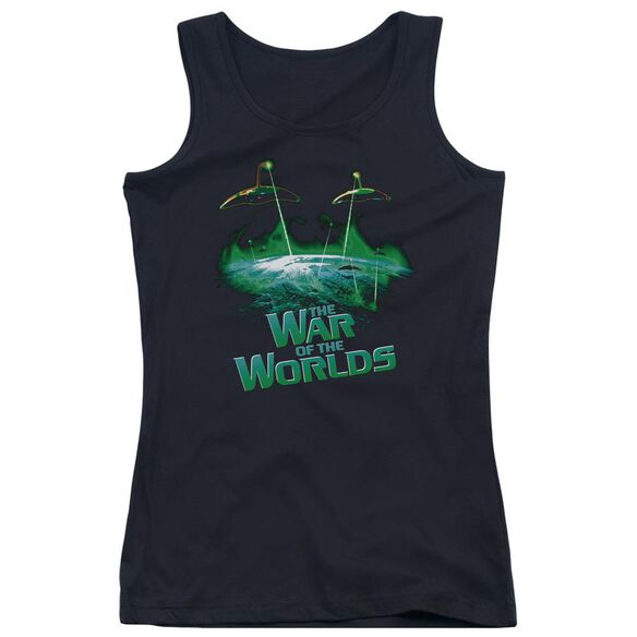 War Worlds Global Attack Juniors Tank Top