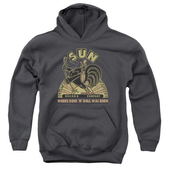 Sun Sun Rooster Youth Pull Over Hoodie