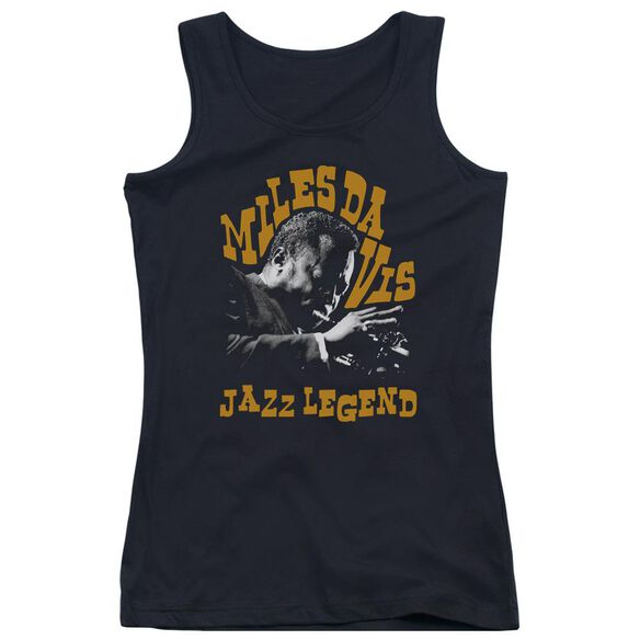 Miles Davis Jazz Legend Juniors Tank Top