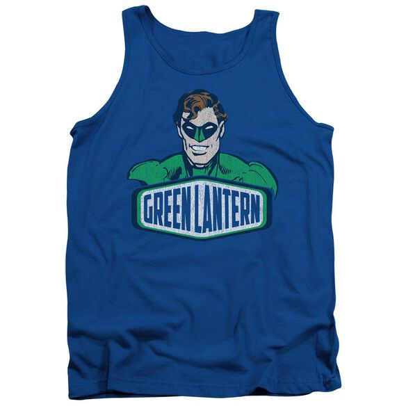 Dco Green Lantern Sign Adult Tank Royal