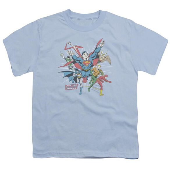 Dc Lead The Charge Short Sleeve Youth Light T-Shirt