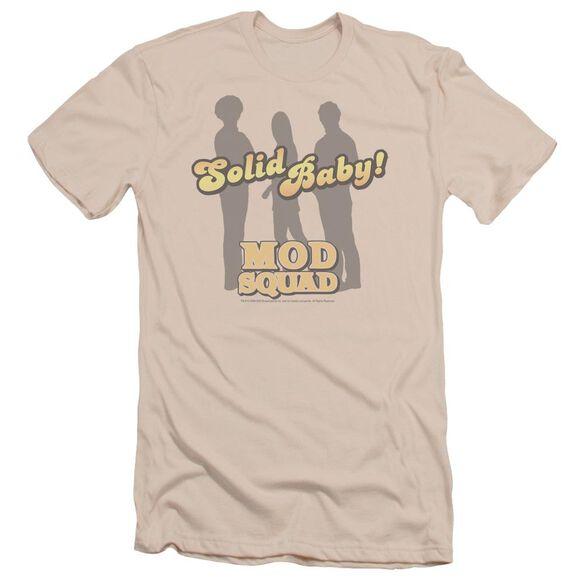 Mod Squad Solid Mod Short Sleeve Adult T-Shirt
