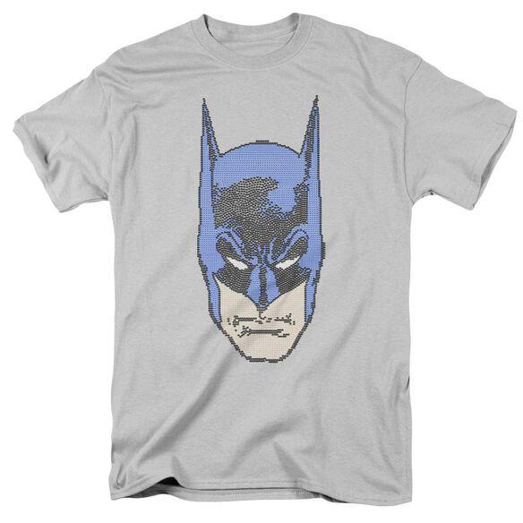 BATMAN BITMAN - S/S ADULT 18/1 - SILVER T-Shirt