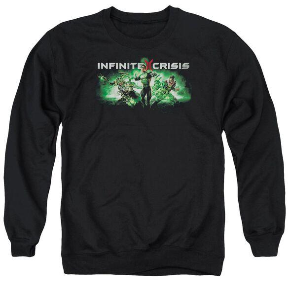 Infinite Crisis Ic Green Adult Crewneck Sweatshirt