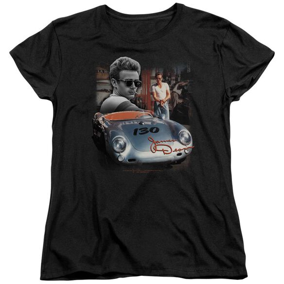 Dean Sunday Drive Short Sleeve Womens Tee T-Shirt