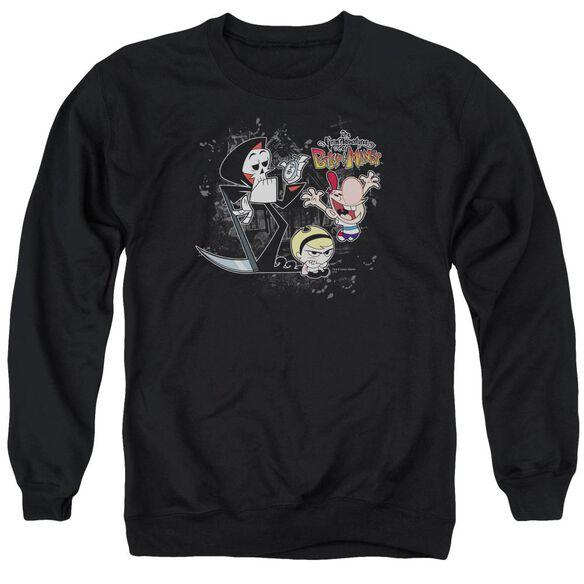 Billy &Amp; Mandy Splatter Cast Adult Crewneck Sweatshirt