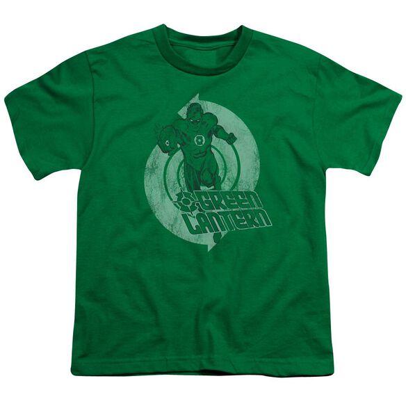 Lantern Power Short Sleeve Youth Kelly T-Shirt