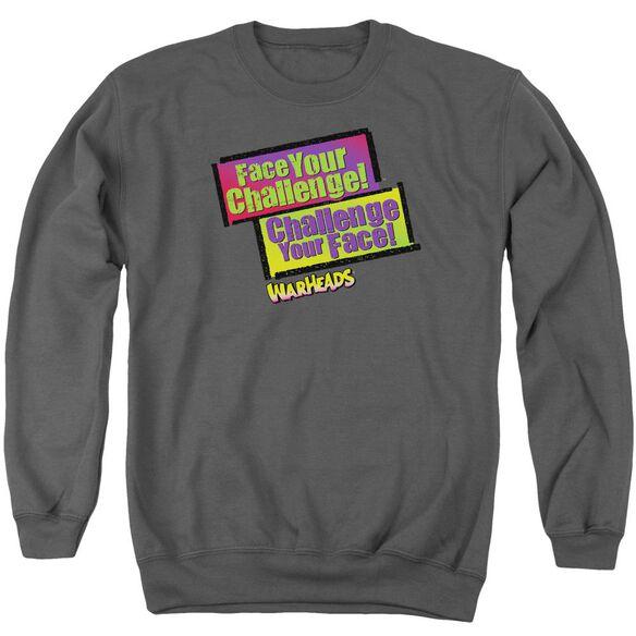 Warheads Face Your Challenge Adult Crewneck Sweatshirt