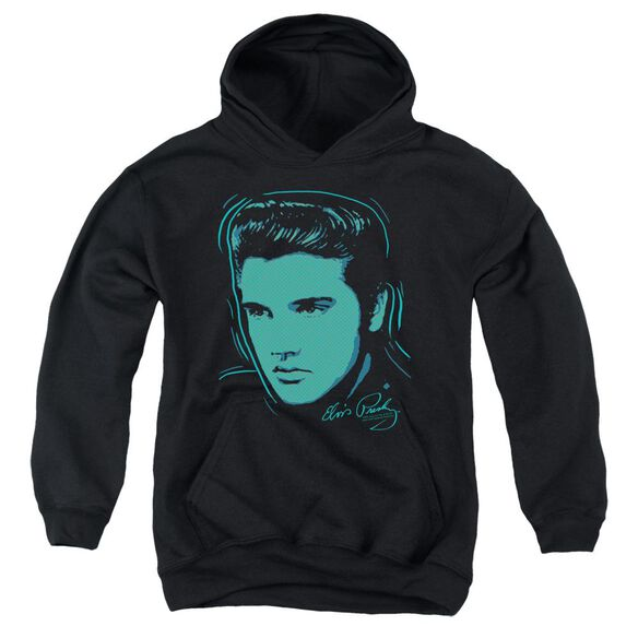 Elvis Young Dots Youth Pull Over Hoodie