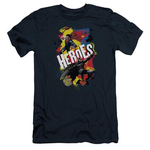 Batman V Superman Double Hero Short Sleeve Adult T-Shirt