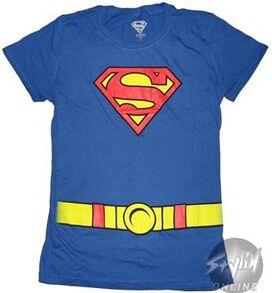 Supergirl Costume Baby Tee
