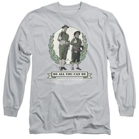 Abbott & Costello Be All You Can Be Long Sleeve Adult T-Shirt