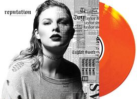 Taylor Swift - reputation [Exclusive 2LP Translucent Orange Vinyl]