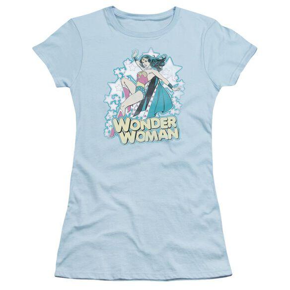 Dc I'm Wonder Woman Short Sleeve Junior Sheer Light T-Shirt