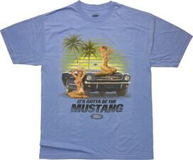 Ford Its Gotta Be The Mustang Tall T-Shirt