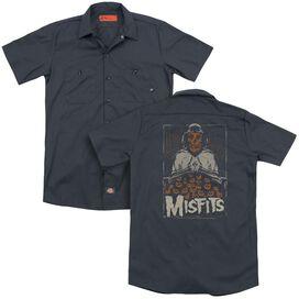 Misfits I Remember Halloween (Back Print) Adult Work Shirt