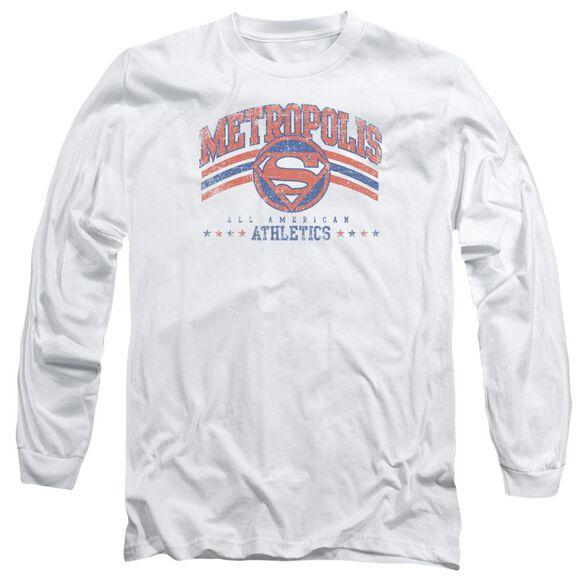 Dc Metropolis Athletics Long Sleeve Adult T-Shirt
