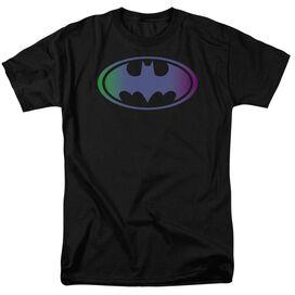 Batman Gradient Bat Logo Short Sleeve Adult T-Shirt