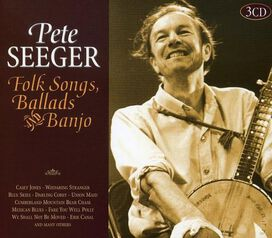 Pete Seeger - Folk Songs, Ballads and Banjo [Box Set]