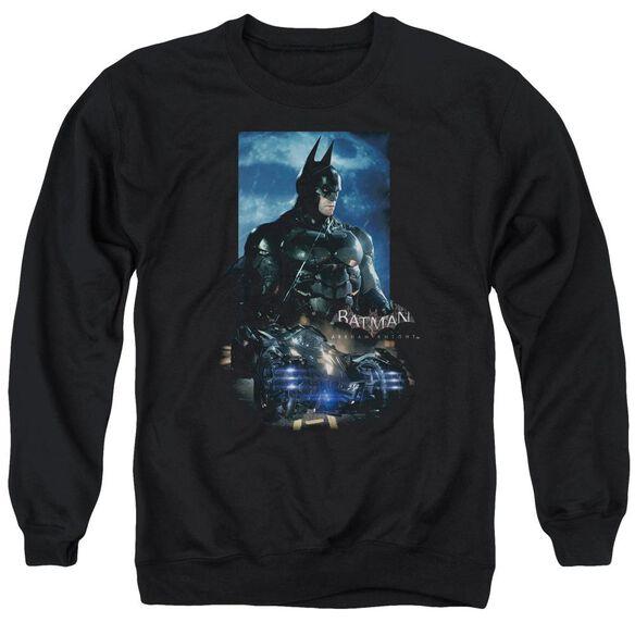 Batman Arkham Knight Batmobile Adult Crewneck Sweatshirt