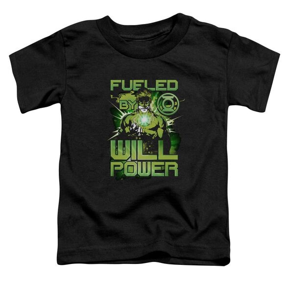 Green Lantern Fueled Short Sleeve Toddler Tee Black Sm T-Shirt