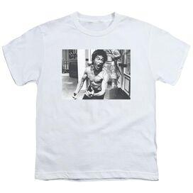 Bruce Lee Full Of Fury Short Sleeve Youth T-Shirt