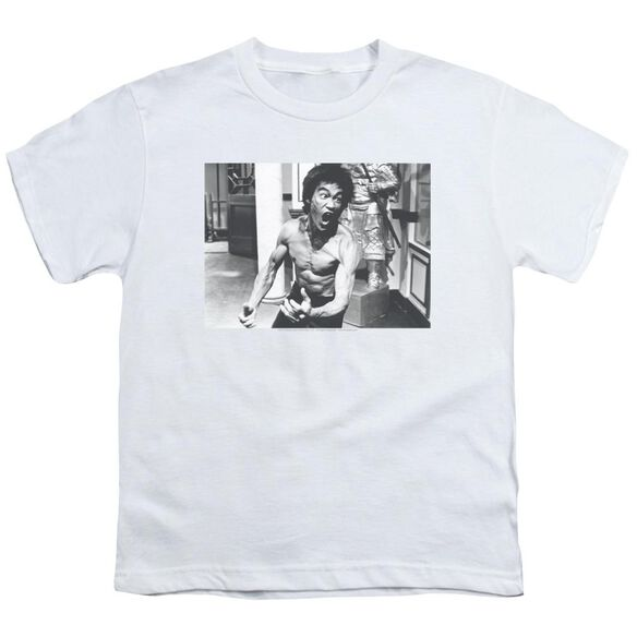 Bruce Lee Full Of Fury Short Sleeve Youth T-Shirt