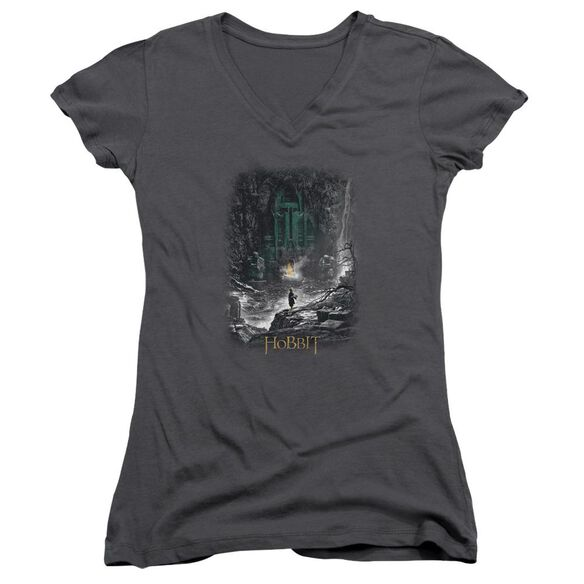 Hobbit Second Thoughts Junior V Neck T-Shirt
