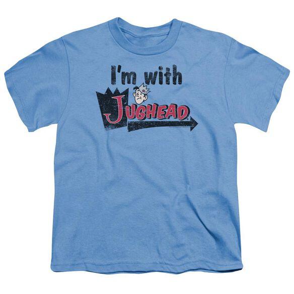 Archie Comics I'm With Jughead Short Sleeve Youth Carolina T-Shirt