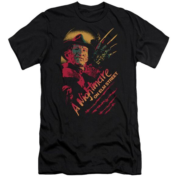 Nightmare On Elm Street Freddy Claws Hbo Short Sleeve Adult T-Shirt