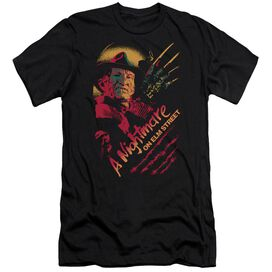 Nightmare On Elm Street Freddy Claws Short Sleeve Adult T-Shirt