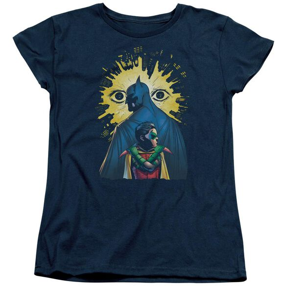 Batman Watchers Short Sleeve Womens Tee T-Shirt