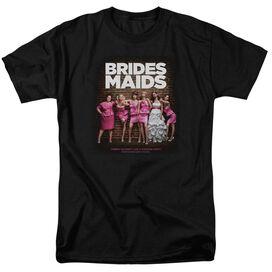 BRIDESMAIDS POSTER - S/S ADULT 18/1 - BLACK - MD - BLACK T-Shirt