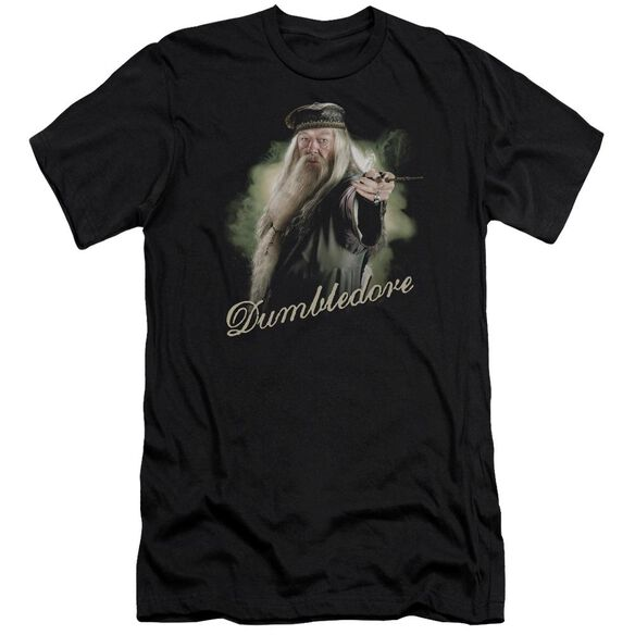 Harry Potter Dumbledore Wand Hbo Short Sleeve Adult T-Shirt