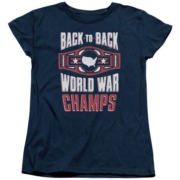 Ww Champs Short Sleeve Womens Tee T-Shirt
