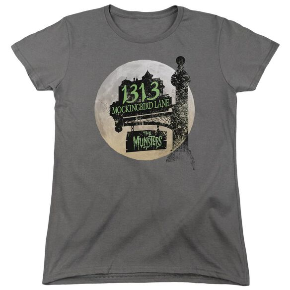 The Munsters Moonlit Address Short Sleeve Womens Tee T-Shirt