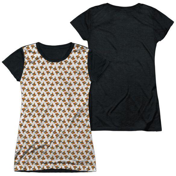 UNCLE GRANDPA PIZZAS-S/S JUNIOR POLY T-Shirt