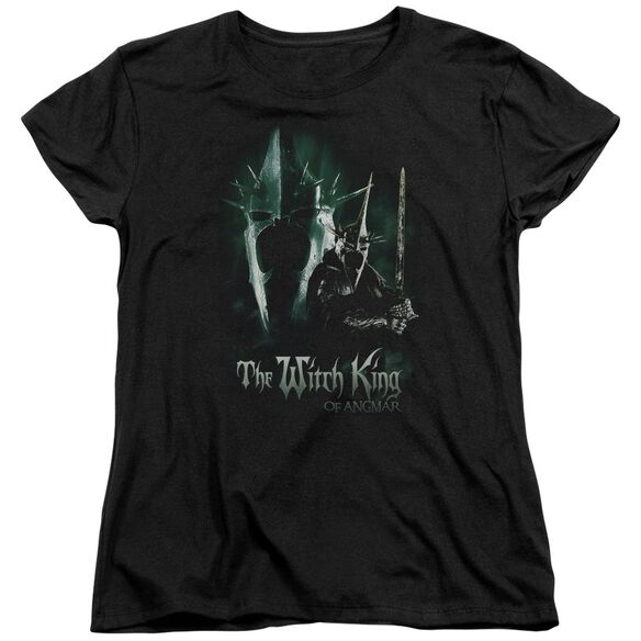 Lor Witch King Short Sleeve Womens Tee T-Shirt
