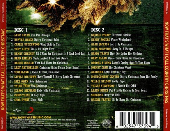Now That's What I Call a Country Christmas by Various Artists - Used on CD | FYE