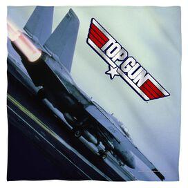 Top Gun Take Off Bandana White