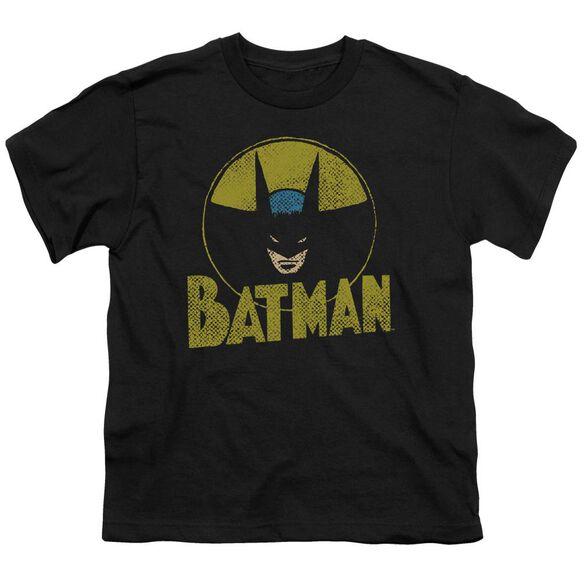 Dc Circle Bat Short Sleeve Youth T-Shirt