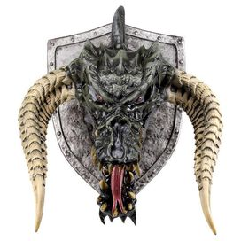 Dungeons & Dragons Black Dragon Trophy Wall Plaque