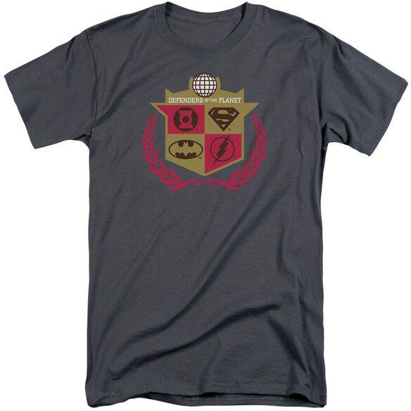Jla Defenders Short Sleeve Adult Tall T-Shirt