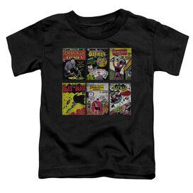 Batman Bm Covers Short Sleeve Toddler Tee Black Lg T-Shirt