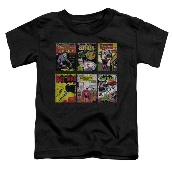 Batman Bm Covers Short Sleeve Toddler Tee Black Lg T-Shirt